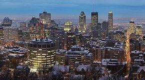 Kanada - Montreal - panorama Québec