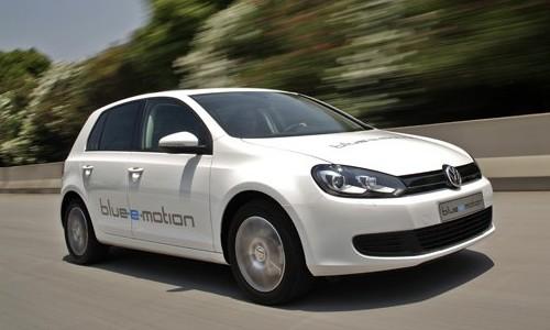 Hybrid.cz obrázky Volkswagen Golf blue-e-motion