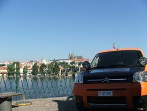 elektromobily - Venturi Global Challenge - Citroen Berlingo - Šanghai Paříž - Praha