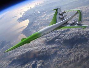 letadla - Supersonic Green Machine