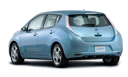 Nissan elektromobily Nissan Leaf