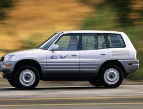 Toyota elektromobily RAV4 EV