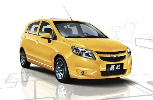 elektromobily - Chevrolet New Sail