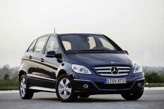Mercedes-Benz třída B elektrické auto