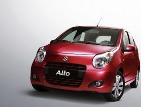 Suzuki Alto - auto na plyn - Indie - CNG