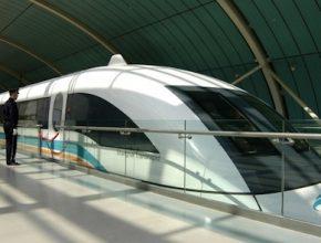 vlaky - Čína - Šanghaj - Maglev - rychlovlak - Transrapid