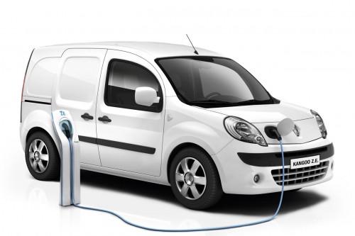 elektrická dodávka Renault Kangoo Express Z.E.