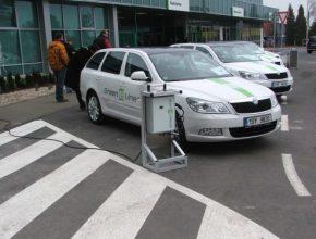 elektromobil Škoda Octavia Green E Line