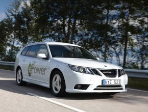 elektromobily - autosalon Paříž 2010 - Saab 9-3 ePower