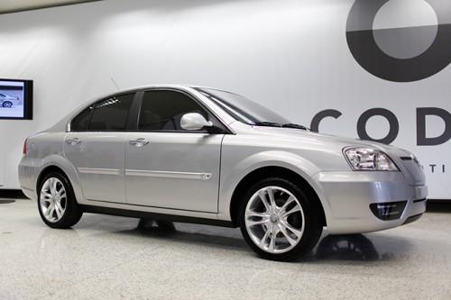 elektromobily - Coda Sedan elektrické auto