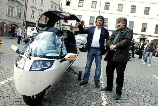 elektromobily - Monotracer - Tomáš Studeník - TILI
