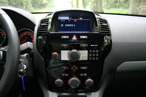 Opel Zafira 1,6 CNG Turbo