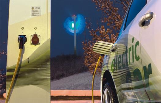 elektromobily Siemens dobíjení stanice