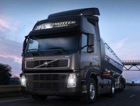 nákladní doprava - kamion Volvo