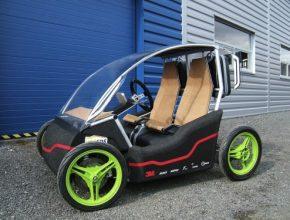 Prcek - český elektromobil