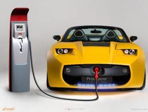 elektromobily - dobíjecí stanice - rychlodobíjení ABB