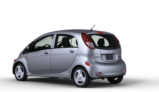 elektromobily Mitsubishi iMiEV americká verze