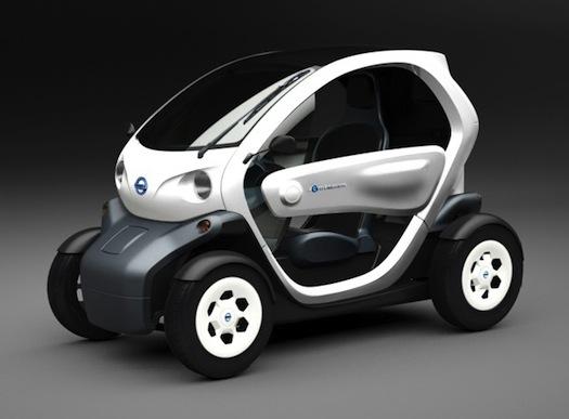 elektromobily - Nissan Mobility Concept