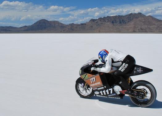 elektromotocykly Mission Motors Bonneville