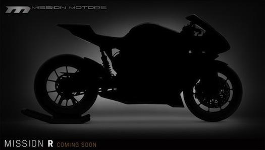 elektromotocykly Mission Motors Mission R