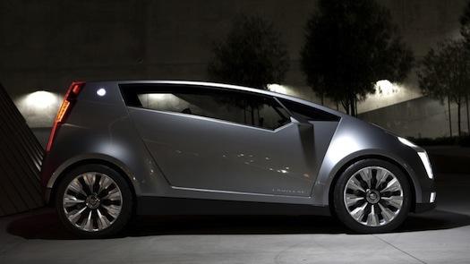 hybridy Cadillac Urban Luxury Concept