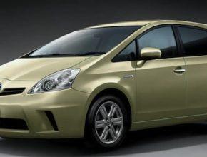 hybridy Toyota Prius MPV Alpha Verso