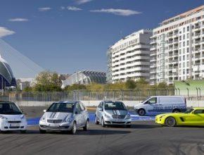 elektromobily Mercedes-Benz