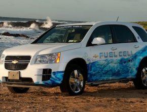 auta na vodík Chevrolet Equinox na Havaji General Motors