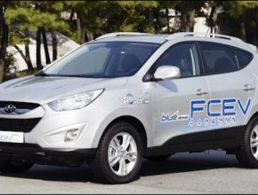 auta na vodík Hyundai Tucson ix FCEV