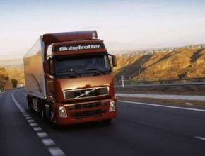 hybridy nákladní auta tahač Volvo