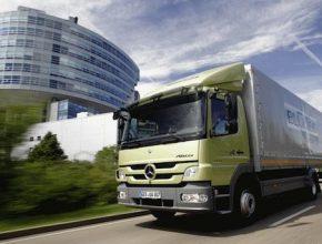 Mercedes-Benz nákladní auta Atego Bluetec Hybrid