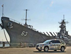 auta na vodík americká armáda námořnictvo infrastruktura