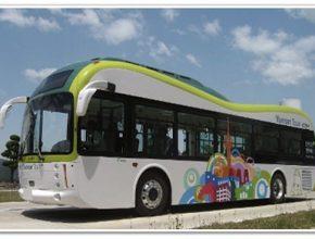 autobusy elektrické Jižní Korea Soul elektrobus