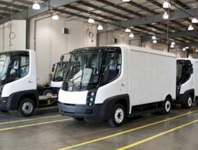 elektromobily nákladní auta Navistar eStar