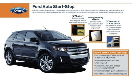 Ford Auto Start Stop