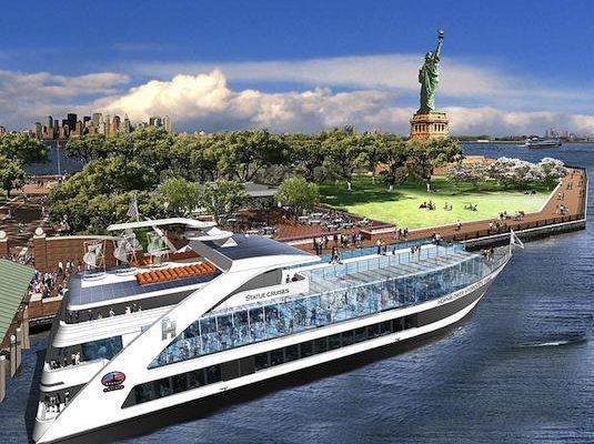 lodě Hornblower hybrid Socha svobody