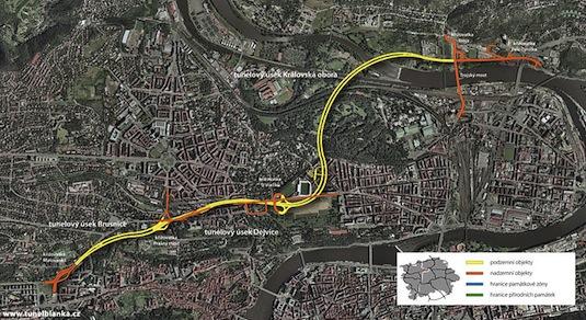 Praha Tunel Blanka