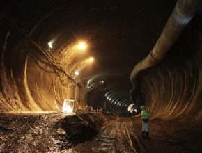 Praha tunelový komplex Blanka