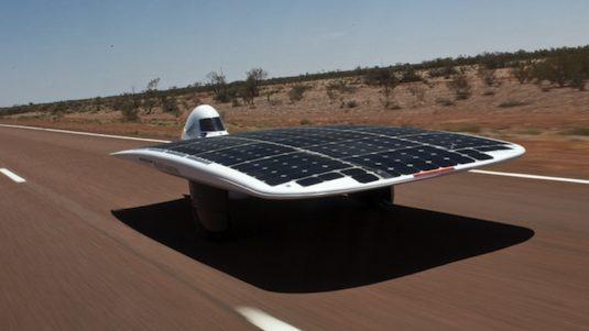 solární auta Sunswift Ivy