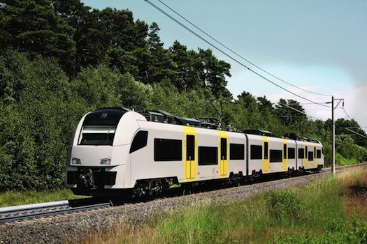železniční doprava - lokomotiva Desiro ML