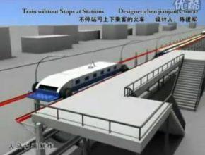 železniční doprava rychlovlaky bez zastávek