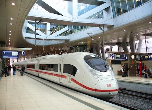 železniční doprava - vysokorychlostní vlak Velaro D