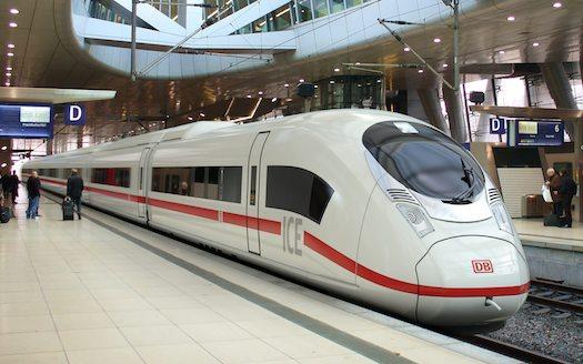 železniční doprava - vysokorychlostní vlak Siemens Velaro