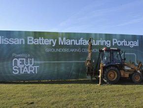 elektromobily Nissan továrna na výrobu baterií Portugalsko