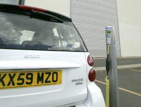 elektromobily Smart dobíjecí stanice
