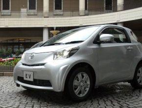 elektromobily Toyota EV prototyp