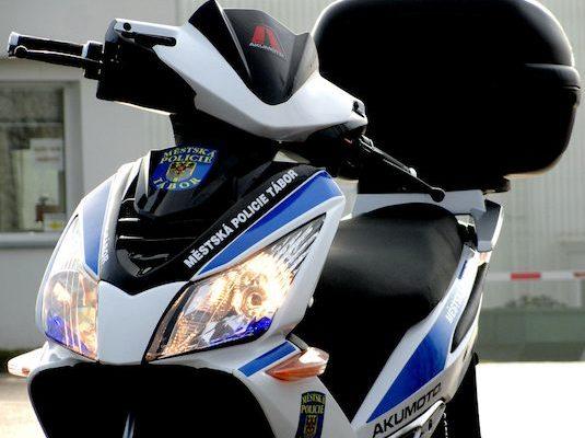 Akumoto městská policie Tábor