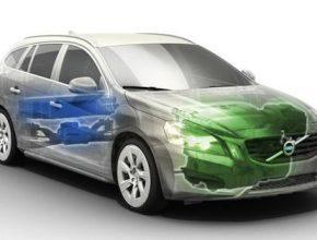 hybridní auta Volvo V60 Plug-in diesel hybrid