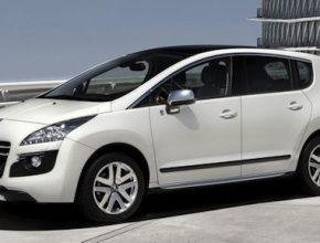 hybridy Peugeot 3008 Hybrid4