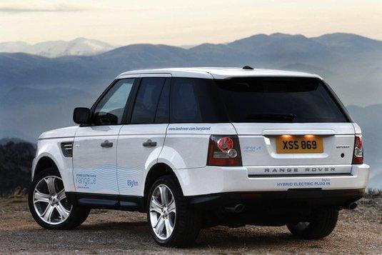 hybridy Land Rover Range_e